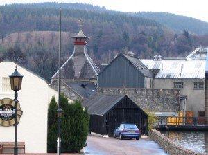 Flenfiddich Destillerie