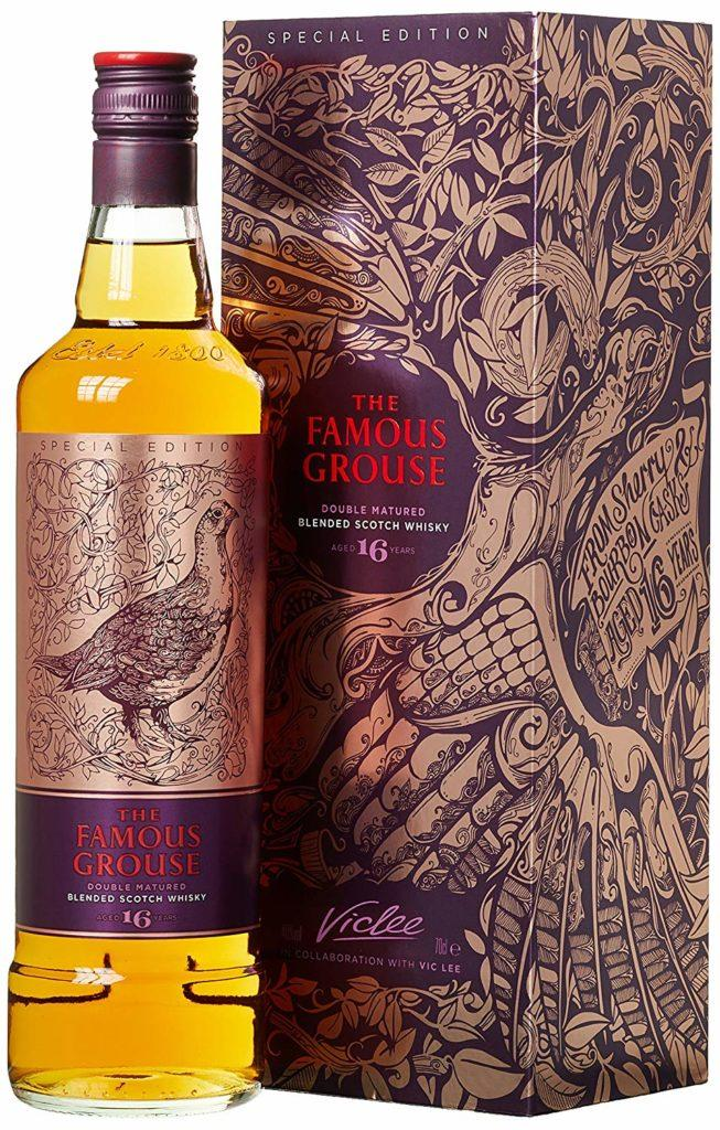 The Famous Grouse The 16 Years Old Double Matured Blended Scotsch Whisky