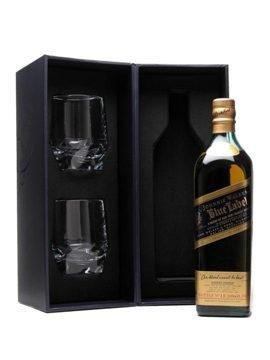 Johnnie Walker Blue Label Crystal Glass Gift Pack