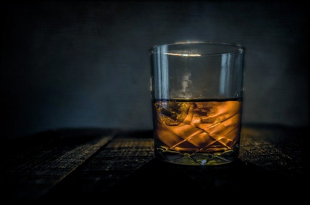 whisky on ice